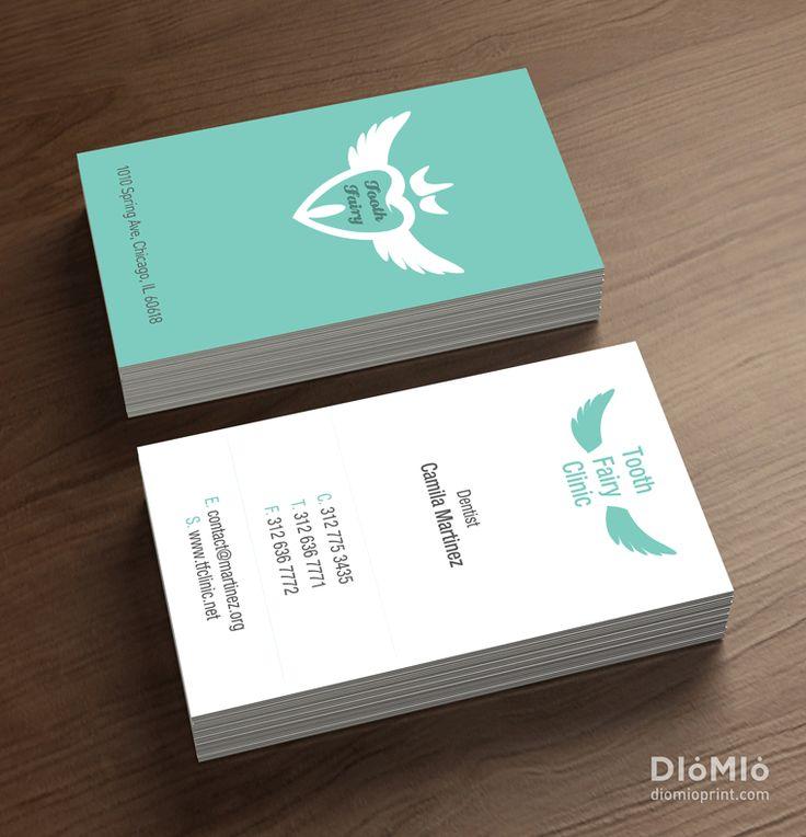 Cute Dentist Business Cards