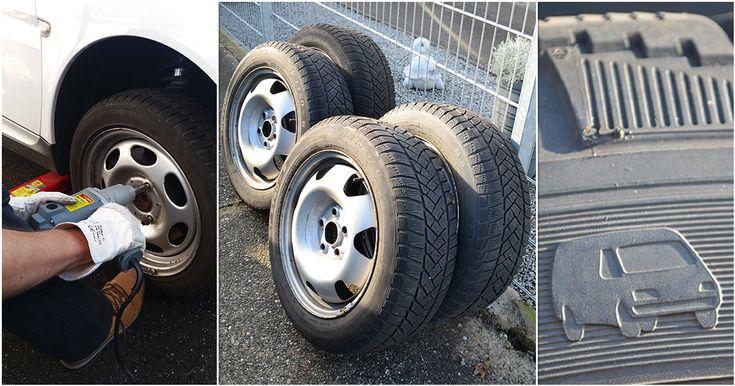 Es ist wieder soweit, der Reifenwechsel steht an! Millionen Menschen wechseln zweimal jährlich ihre Reifen, um sicher in der passenden Jahreszeit unterwegs.  Reifenwechsel  #Reifenwechsel #DIY #Selbstmachen #Reifen #Winter #Sommer