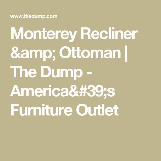 Best Monterey Recliner Ottoman Furniture Outlet Ottoman In 400 x 300