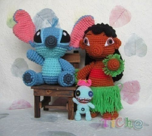 Lilo & Stitch Haken enzo... Pinterest To be, Spanish ...