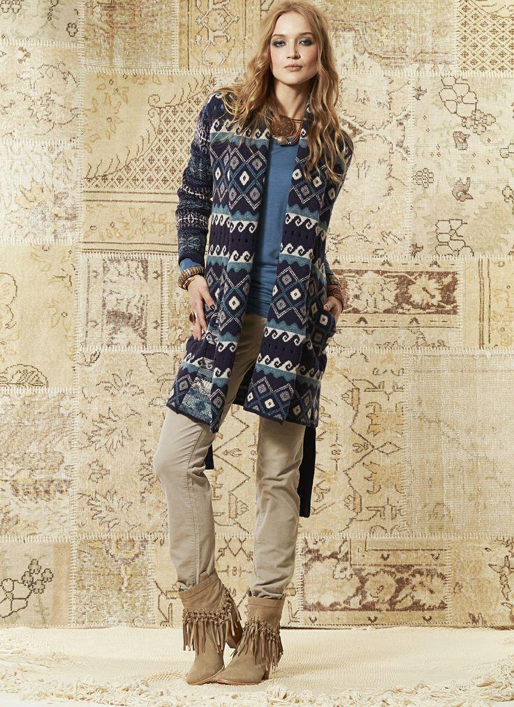 Loobie's Story Mimi Coat, Persia Top and Essential Velvet Pant