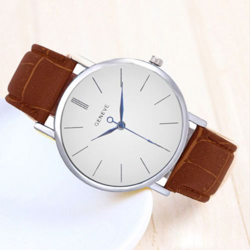 GENEVE-Unisex-Women-Men-Fashion-Leather-Band-Business-Analog-Quartz-Wrist-Watch