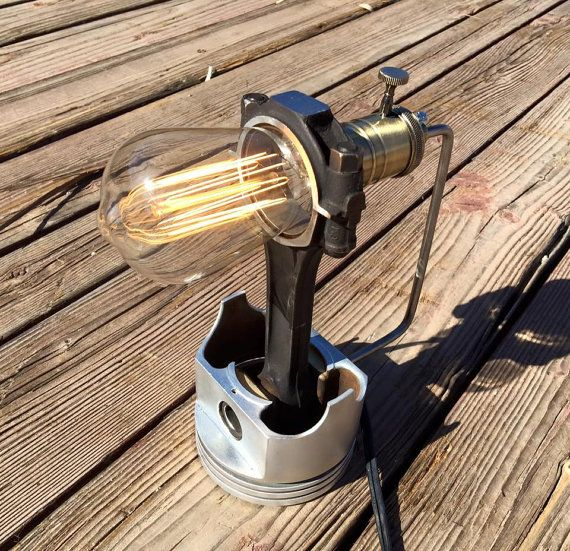 Piston Desk Lamp by tcgAZ on Etsy