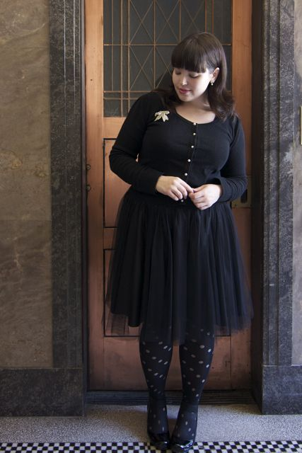 cardi + tulle skirt by Frocks and Frou Frou