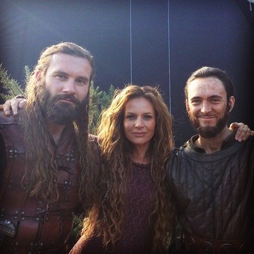 Rollo, Siggy, and Athelstan