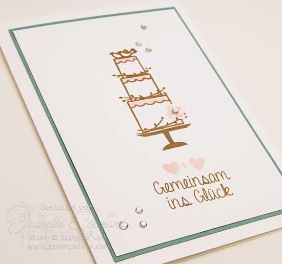 Stampin´ Up! Hochzeitskarte