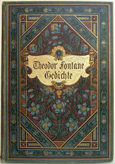Gedichte von Theodor Fontane,  Stuttgart & Berlin: by J. G. Cotta 1902 ninth edition | Beautiful Antique Books
