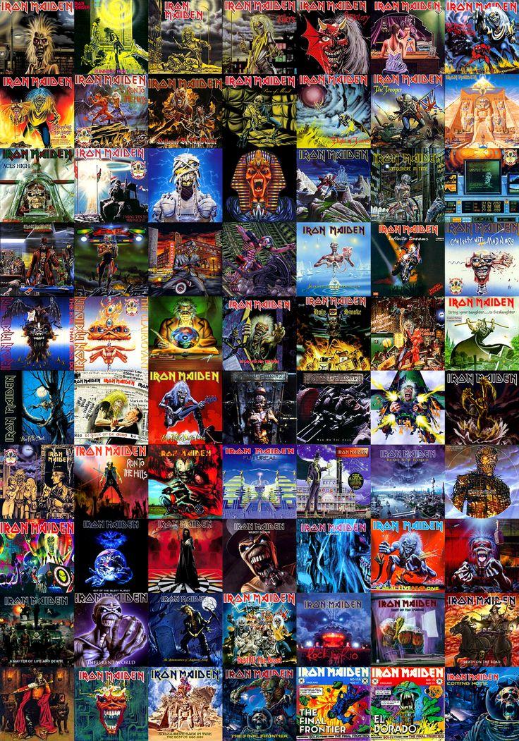 Iron Maiden Album Covers | ... cd covers 2011 2013 blzofozz tons of iron maiden album artwork no