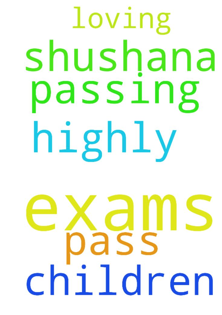 passing exams. -  	Most loving father, my request is to help my children, pass exams, highly. Shushana.  Posted at: https://prayerrequest.com/t/f97 #pray #prayer #request #prayerrequest