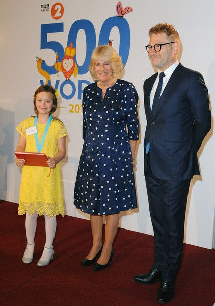 The Duchess of Cornwall Attends the Final of BBC2's 500 Words Competition