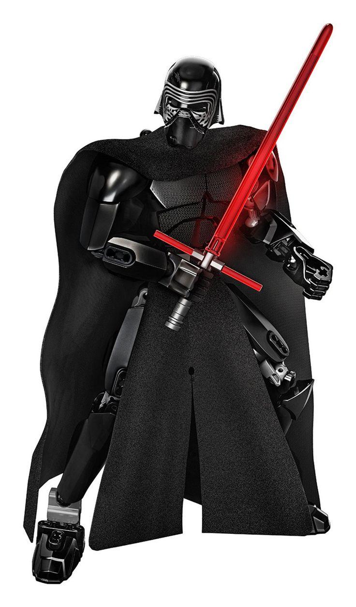 KSZ Star Space Wars 7 Kylo Ren Darth Vader with Lightsaber Storm Trooper Figure Toys Building Blocks Set Compatible Legoing #Affiliate