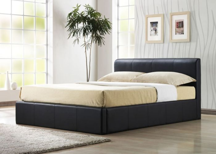 ottoman bed brown from 339 free delivery - Cheap Bed Frames With Storage