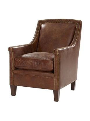 Leathercraft Lounge Chair (Rustical Henna)