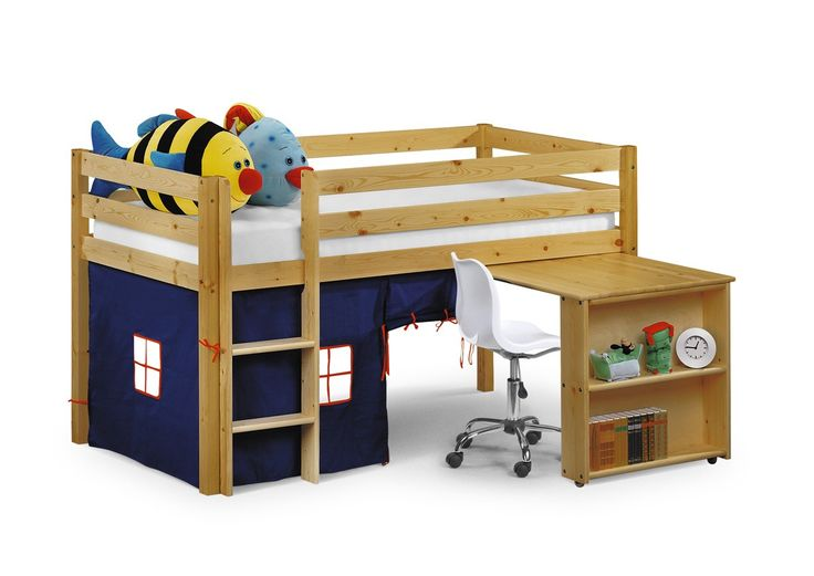 Julian Bowen Wendy Blue Mid Sleeper Cabin Bed