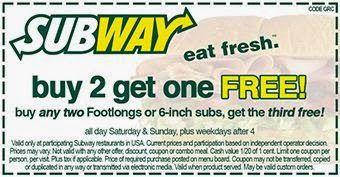 OHIO subway coupons may 2015 printable | Subway Printable Coupons May 2015
