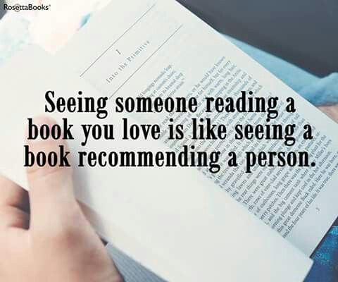 Book recommending people