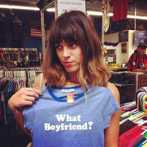 MELODY PROCHET (what+boyfriend+t+shirt)
