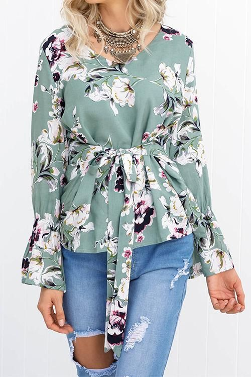 244fb8145feebc Venidress Bohemian Floral Printed Blouses | clothes. | Blouse ...