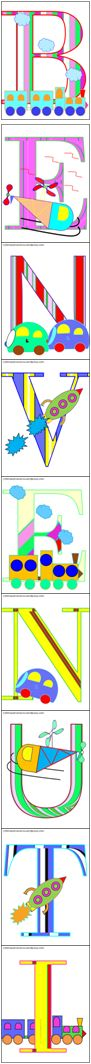 Striscione di benvenuto colorato