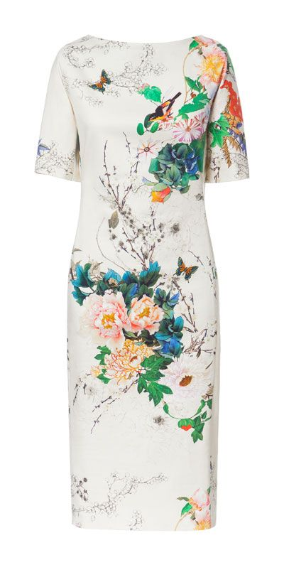 FLORAL PRINTED DRESS from Zara