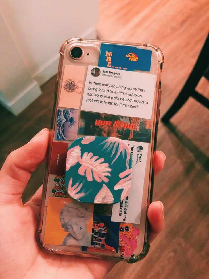 phone case idea if youre bored of your clear case