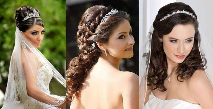 Idee acconciature da sposa con la tiara