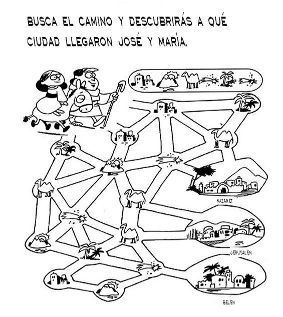 Navidad paginas de actividades clase de espanol - Ninos en clase dibujo ...