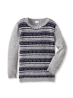 50% OFF Il Gufo Kid's Multi Sweater (Grey)