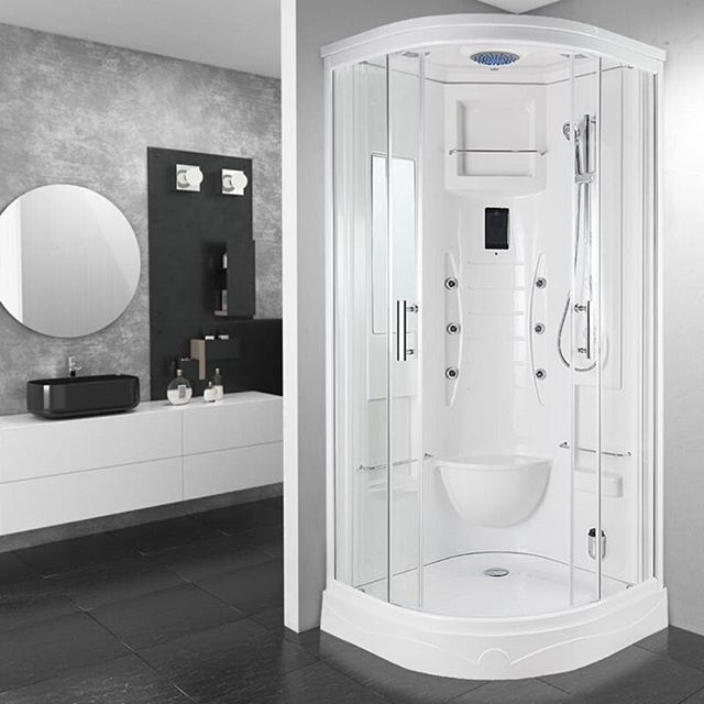 The Ss53 Easy Clean 900 X 900mm Steam Shower Is Part Of Our Own