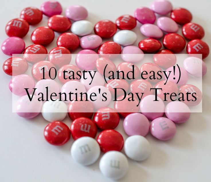 Last minute procrastinator? We've rounded up our fave 10 easy (and yummy!) Valentine's Day Treats, fit to share or just enjoy yourself! #ValentinesDay