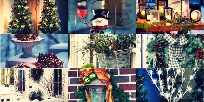 50 Ιδέες – Χριστουγεννιάτικη διακόσμηση εξωτερικών χώρων
