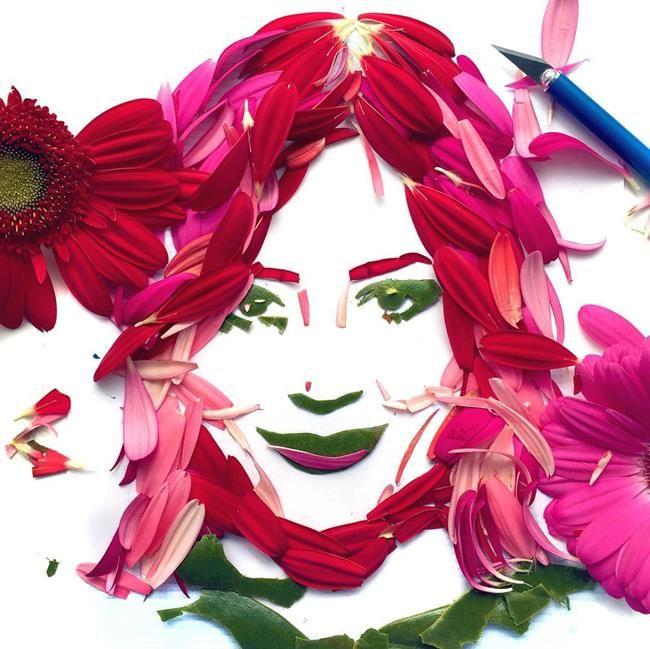 Gündelik Objeler ve Yiyeceklerle Ünlü Portreleri Resmeden Sanatçı: Jessie Bearden Sanatlı Bi Blog 2
