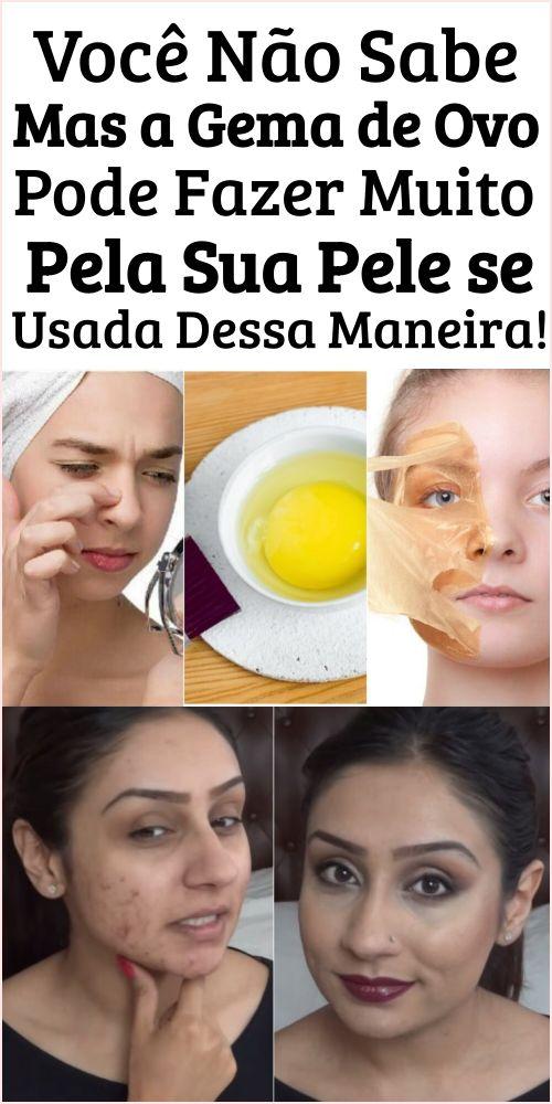Receita de ovo caseiro para rejuvenescimento da pele!    – Beleza