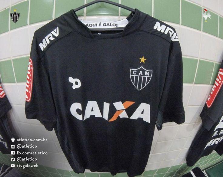 Terceira camisa preta do Atlético-MG 2016 Dryworld