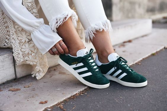 Adidas Gazelle in green