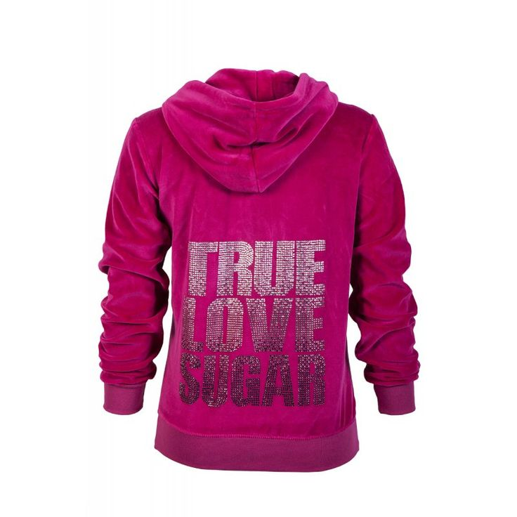 "VELOUR HOODIE ""TRUE LOVE SUGAR"" by @Sugarfree  https://www.sugarfreeshops.com/eng/product/1305/2350/velour-hoodie-quottrue-love-sugarquot"