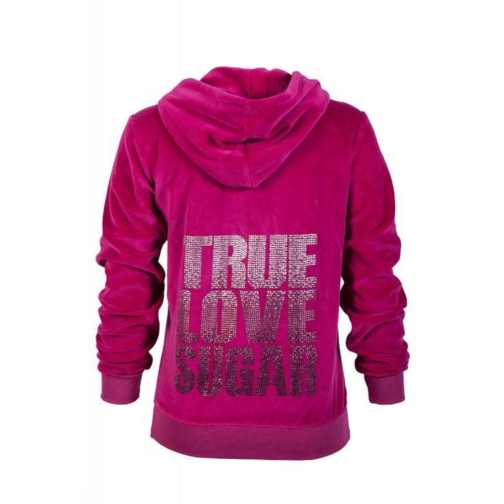 "VELOUR HOODIE ""TRUE LOVE SUGAR"" by @Sugarfree  https://www.sugarfreeshops.com/eng/product/1305/2350/velour-hoodie-quottrue-love-sugarquot"