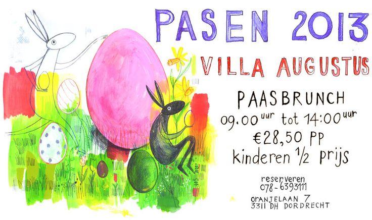 Villa Augustus Dordrecht - Paasbrunch 2013