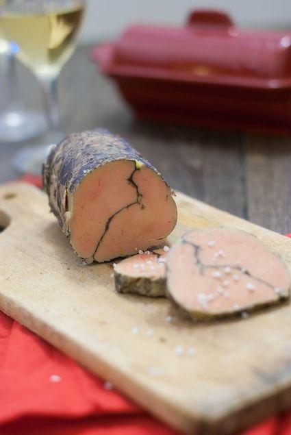 Foie gras au chocolat