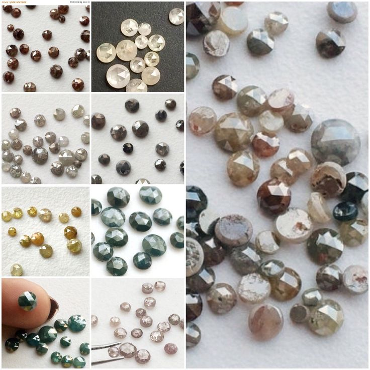Gemsforjewels brings you a wide range of rose cut diamonds in all colors. From 1mm - 7mm. Ask for your choice of color & size. We do custom orders. Sparkling rose cut diamonds In white, grey, black, blue, yellow, brown, red. Flat 50% off STOREWIDE!