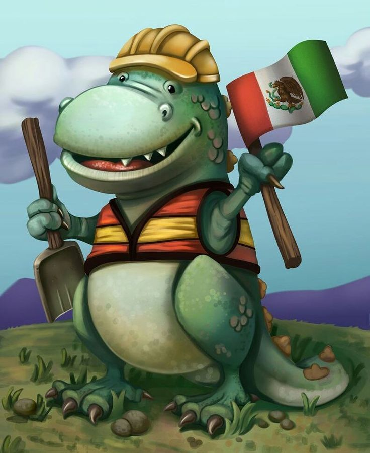 "Hi there! he is representative of ""Brigada y rescate la doctora y los dinos"" who are still helping the victims of the last earthquake that affects Mexico. Help them to help :) #mexico  #earthquakemexico2017 #mascot #characterdesign #dinosaur"