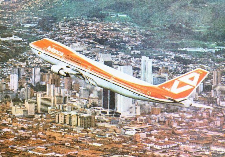 Avianca Boeing 747-200B