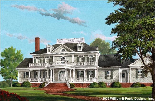 http://www.williampoole.com/plans/VerandasDreams Home, Floors Plans, Squares, Southern House Plans, Houseplans, Dreams House, Neoclassical House, Bedrooms, Bathroom