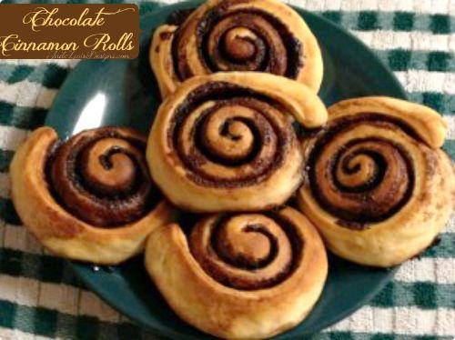 Chocolate Cinnamon Rolls Recipe- a Hungarian Treat #cinnamonrolls #recipe