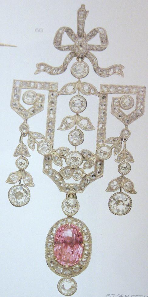 Faberge Diamond Brooch                                                                                                                                                                                 More