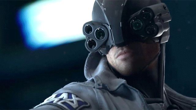 Nightvision, headgear,  6 GIFs from that Striking Cyberpunk 2077 Trailer