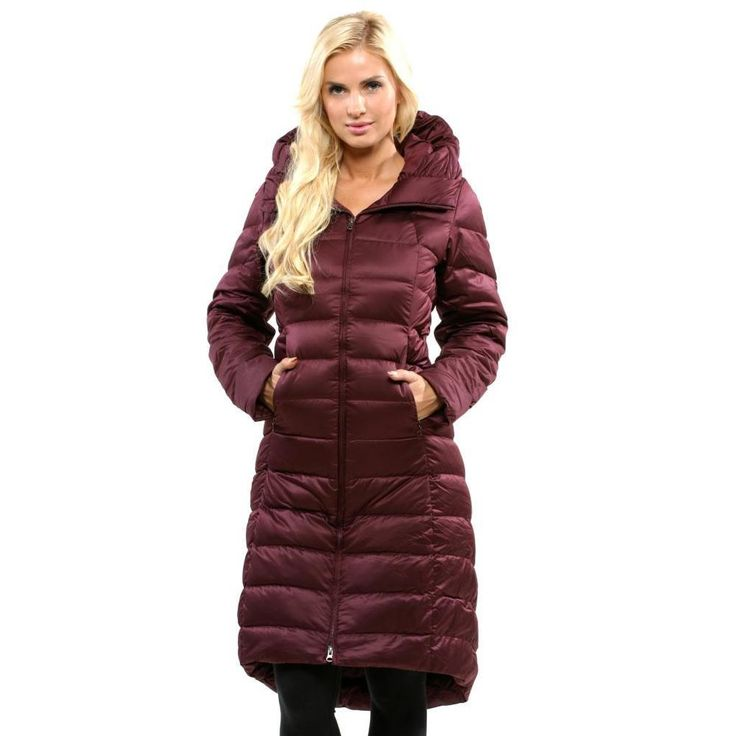 Patagonia Women's 'Downtown Loft' Dark Currant Parka - Overstock™ Shopping - Top Rated Patagonia Jackets