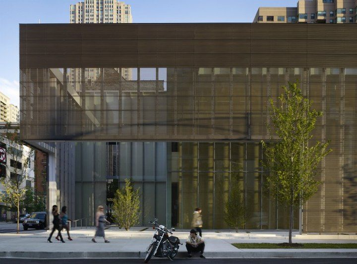 Maintaining the Urban edge... Chicago Poetry Foundation  John Ronan Architects