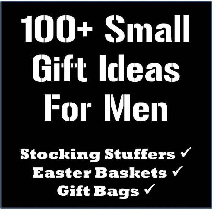 122 best its always been you 3 images on pinterest gift 100 stocking stuffer easter basket and gift bag ideas for men thelifeoflulubelle who doesnt need a little help with gift giving ideas for the hubby negle Image collections