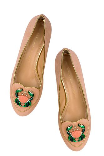 Charlotte Olympia Cosmic Collection Cancer shoe, £495, available at Charlotte Olympia